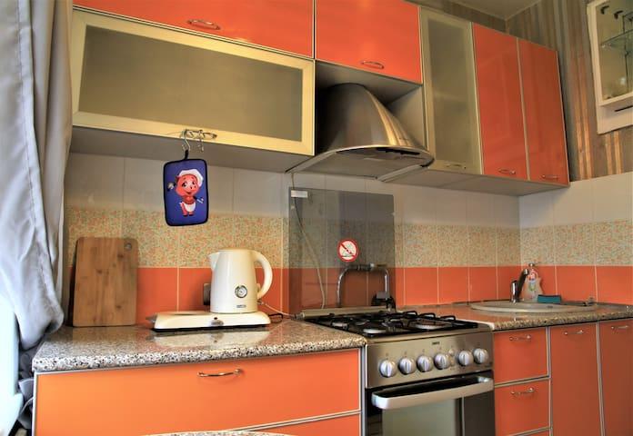 Стильные апартаменты с удобным расположением.