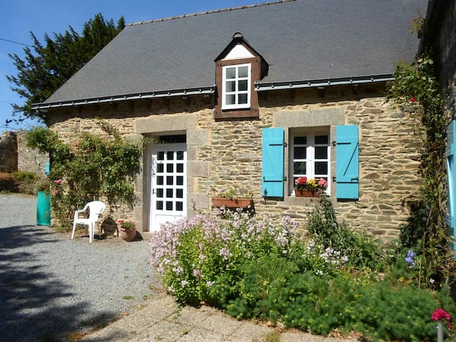 Coet Moru Gites, Rose Cottage - Crédin - House