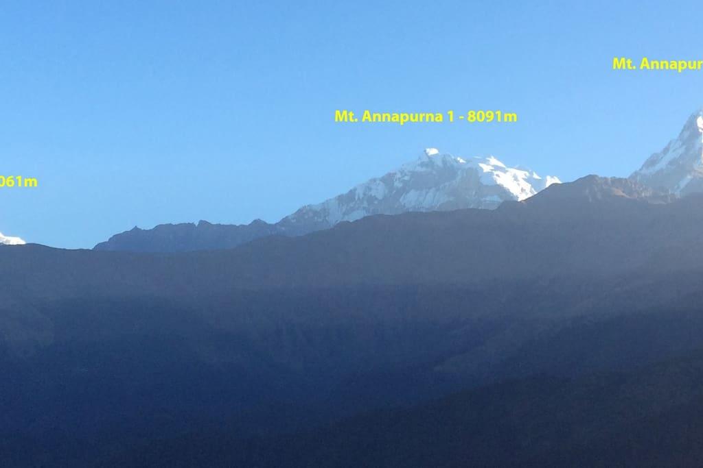 Mt Nilgiri & Annapurna Ranges
