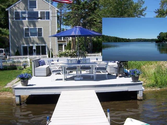 AT WATERS EDGE PERFECT PLYMOUTH LAKE HOUSE AWAITS