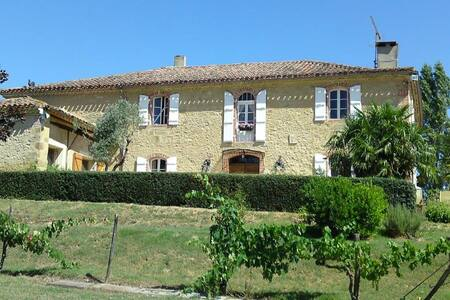 Gascony Villa Auch Tranquil Luxury Country House - Saramon - Rumah