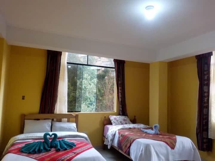 habitación confortable,limpio y tranquilo