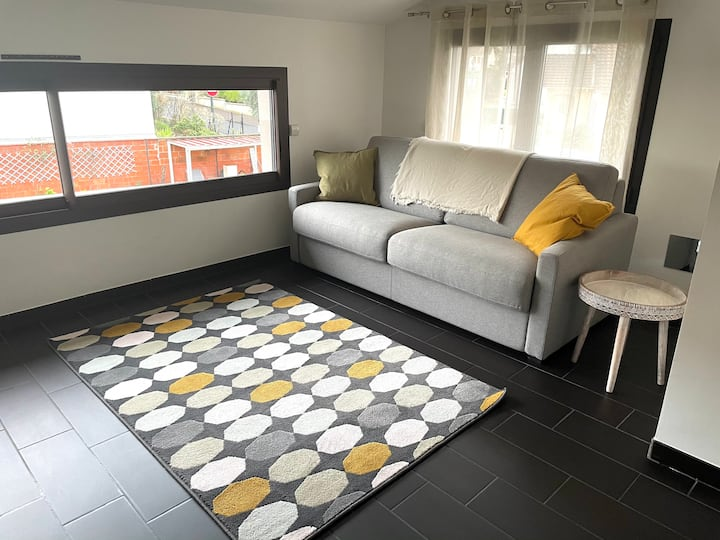 Magnifique chambre avec terrasse/jardin