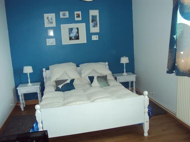 Chambre au calme  proche A84 - Banneville-sur-Ajon - Casa