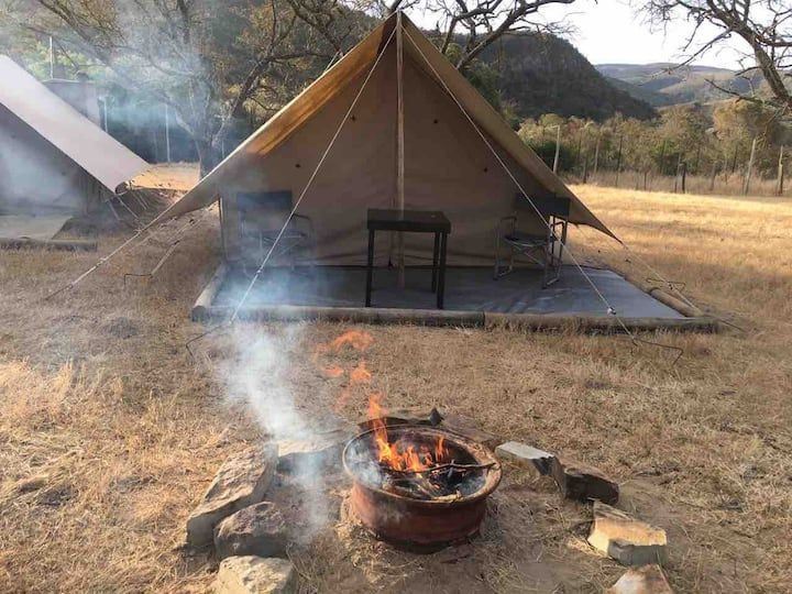 Tented camp #8 @ Horseshoe Game Reserve King& stre