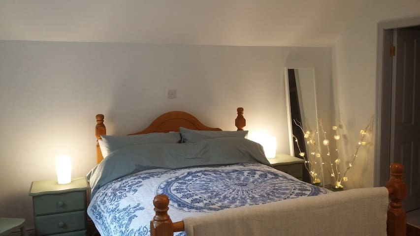 An Sibin B & B (Large Double Room with Extra Bed) - Lauragh - Bed & Breakfast