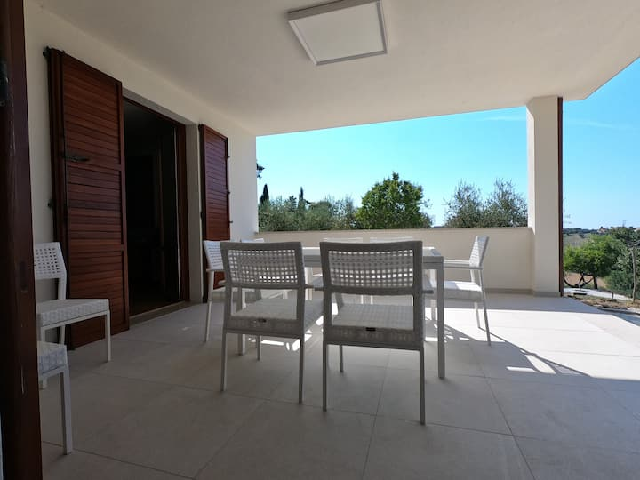 Casa vacanze con vista sul Castello di Gradara