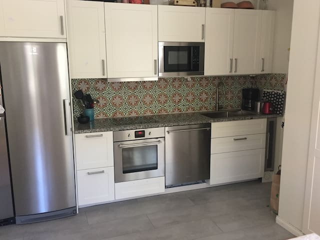 Newly renovated with modern appliances