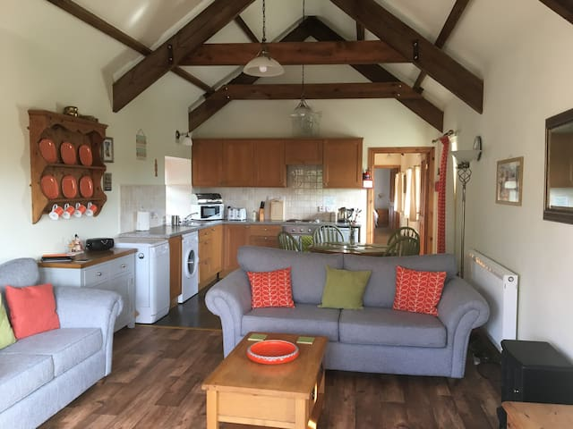Cosy ,bright converted stone barn Carmarthenshire