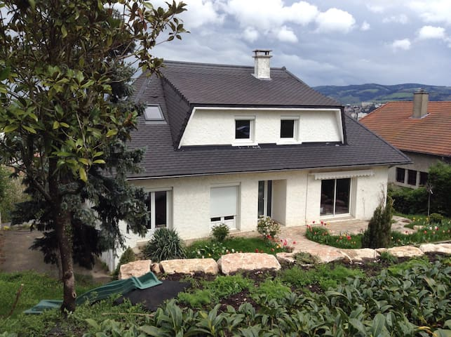 Modern house in dowtown- 1 room 1 double bed- - Saint-Étienne - Huis