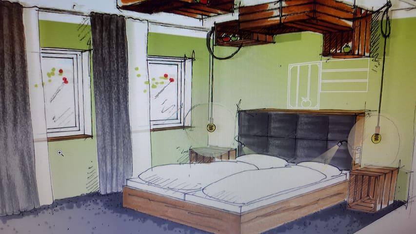 Wohlfühl-Apartment im Apfelhof - Wemding - Appartement en résidence