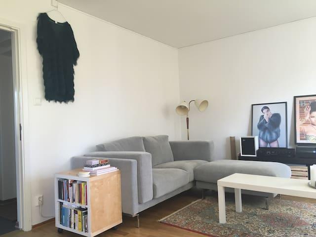 Mysig 2-rumslägenhet i Bagarmossen