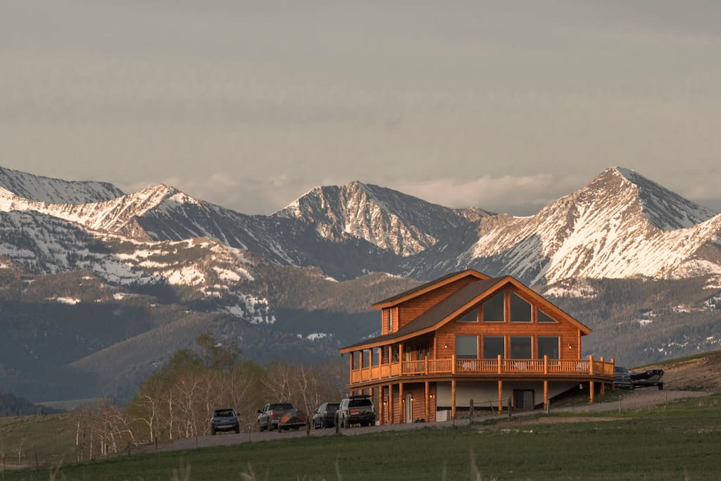 Your private getaway in the shadows of the crazy mountains
