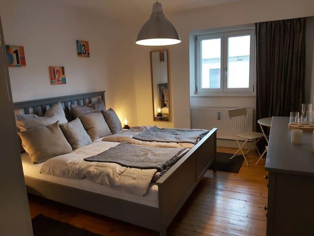 Helles und gemütliches Gästezimmer in Grassau/Obb