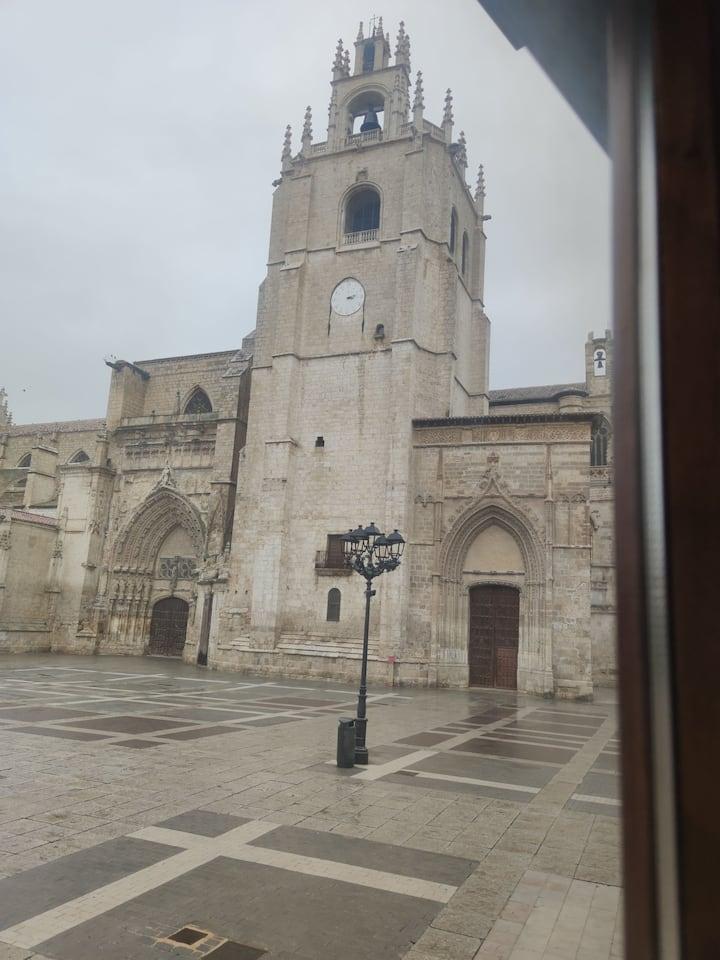 Apartamento en centro de Palencia, en la catedral