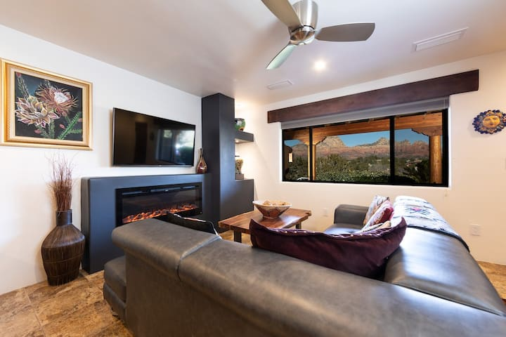 Splendid Red Rock Views, Pvt 1BR Suite #3