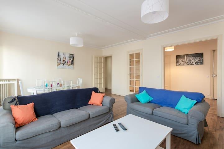 Beautiful Smartand ChicParis 17 Maillot-champerret - Paris - Apartemen