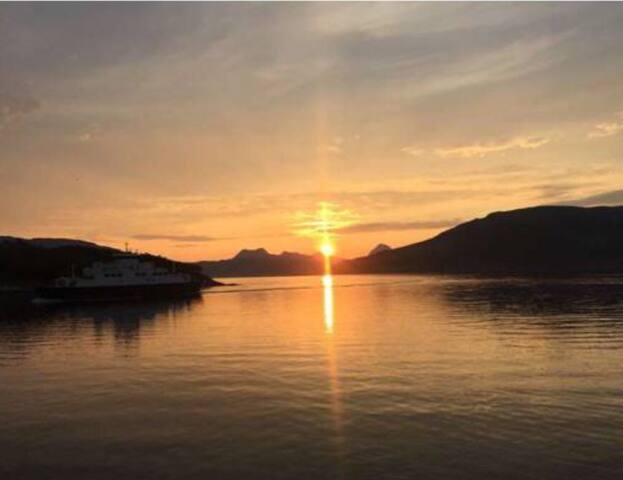 Leilighet ved Helgeland kysten