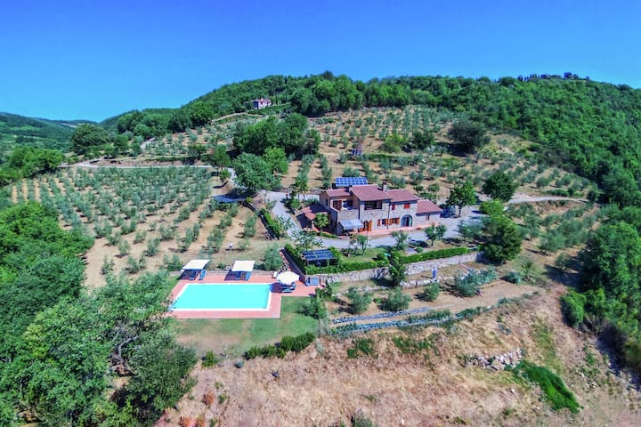 Modern Farmhouse in Ficulle with Swimming Pool