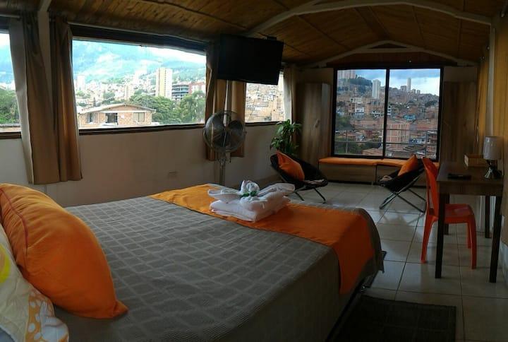 Apartamento PANORÁMICO la mejor vista de Medellín