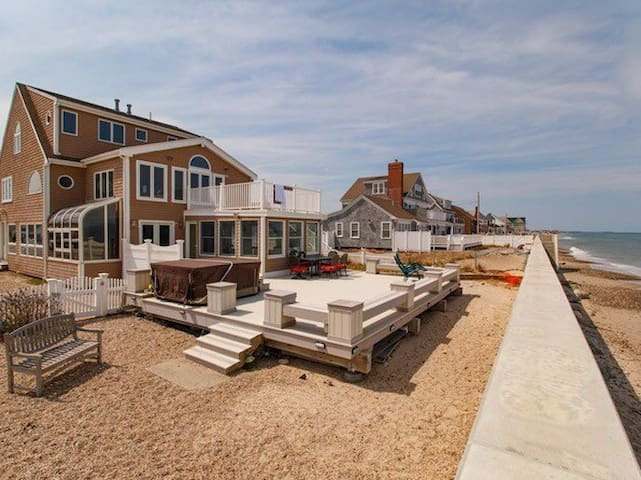SPECTACULAR 180* View Ocean Front Home, Sleeps 13 - Marshfield