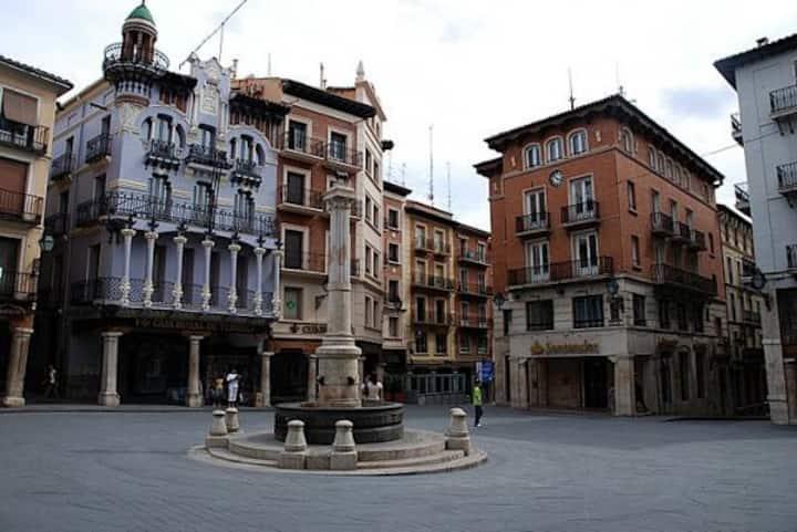 Casa Cubillas, en el corazón de Teruel.