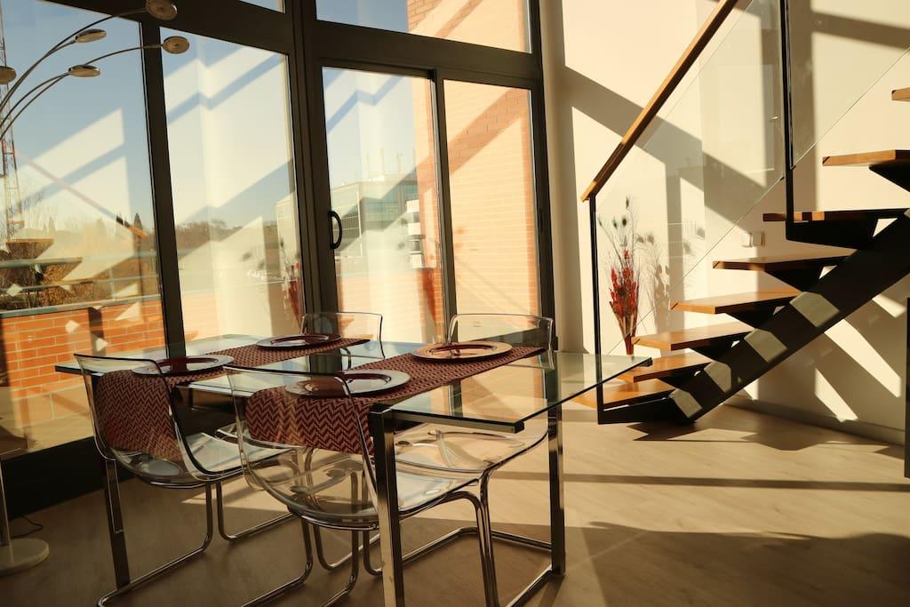 Loft de dise o luminoso y tranquilo lofts en alquiler for Diseno de interiores san sebastian