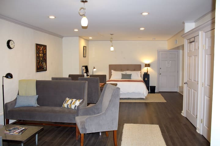 Spacious Studio on St Charles Ave - New Orleans - Apartment