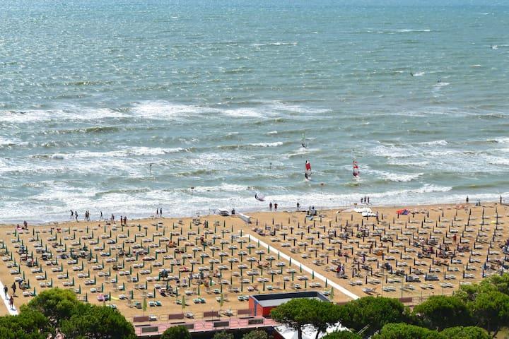 Frontemare con vista stupenda - Lignano Sabbiadoro - Appartement