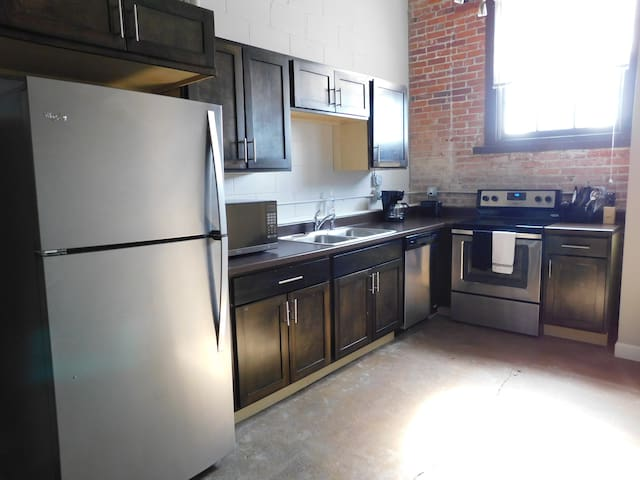 Great loft in the heart of downtown Davenport