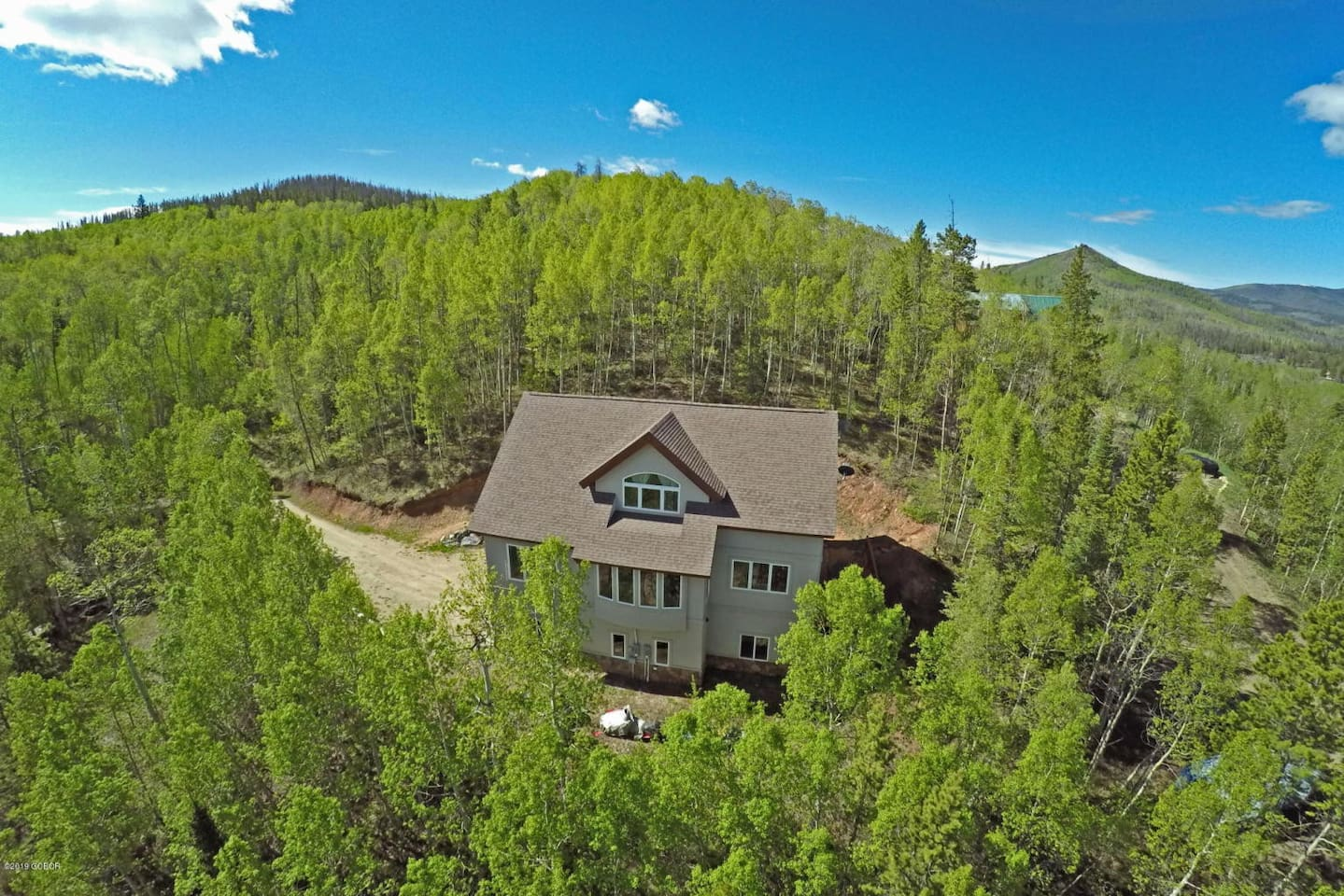 Private lot surrounded by beautiful aspen trees