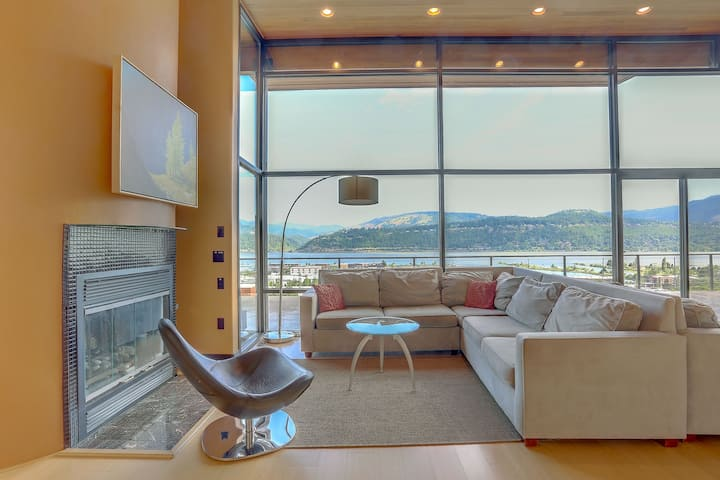 ALIZES - Luxury Flagship Home, Best Gorge Views, Downtown, Theater Room