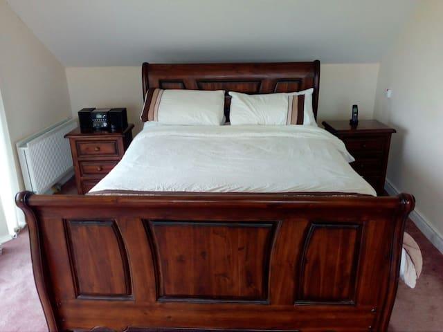 Double en suite room with stunning views! - Collon - Casa
