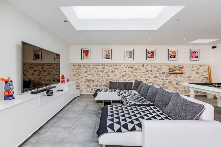 Loft moderne en plein centre de Toulon avec patio
