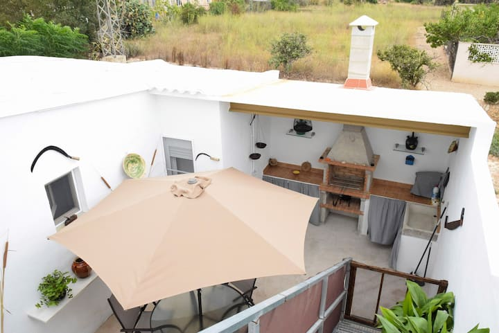 Encantadora casa de pueblo en el Delta del Ebro