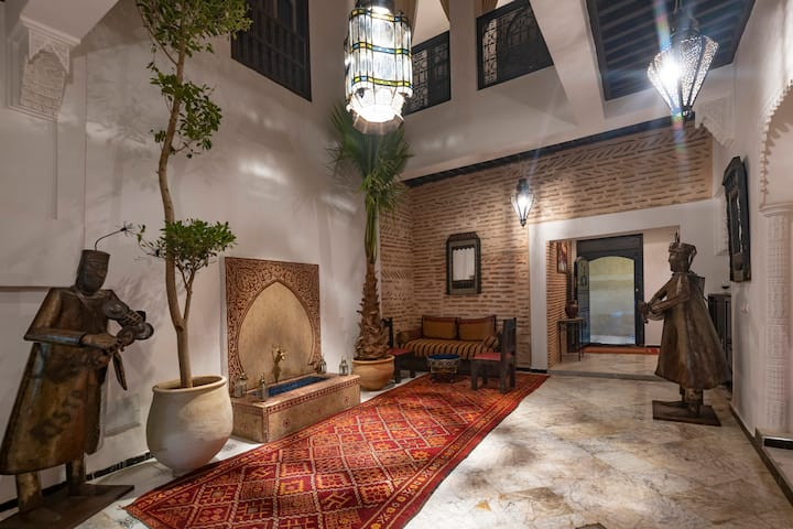Traditional riad in the historic center