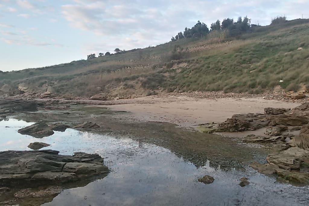 A 5 minuti da casa, la spiaggia delle Solette