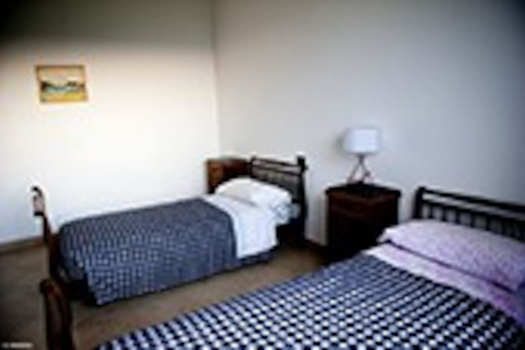una camera da letto