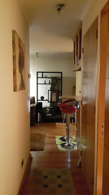 Hall de acceso al dormitorio principal