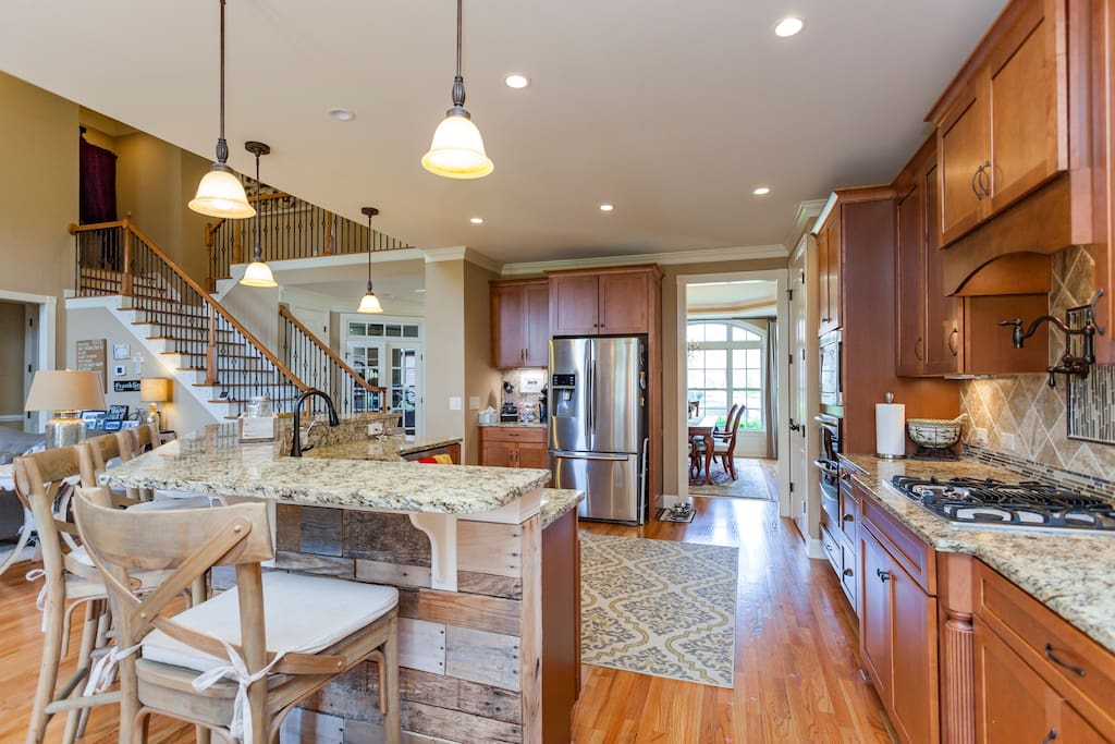Spacious kitchen
