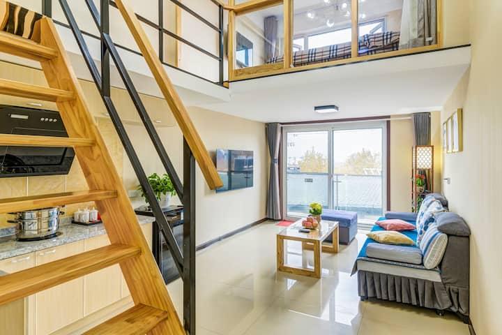 蓬莱阁海边loft海景公寓