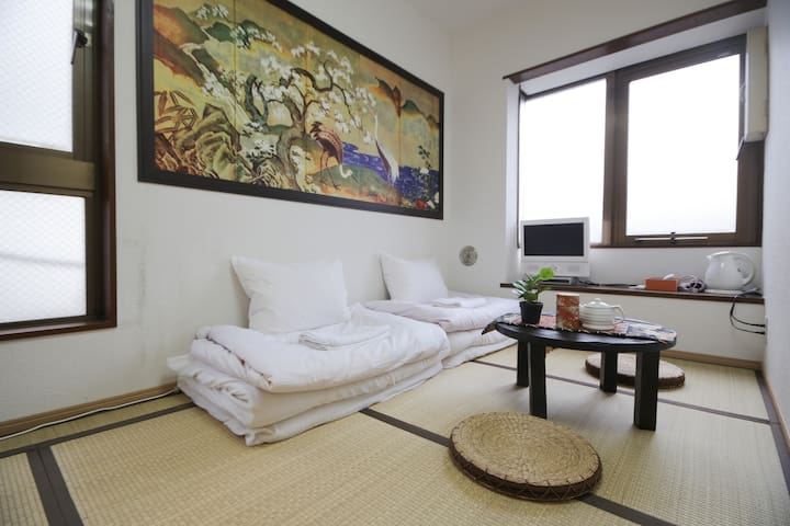 [P8] Cozy Guest house 2min Shinjuku - Shinjuku-ku - Appartement