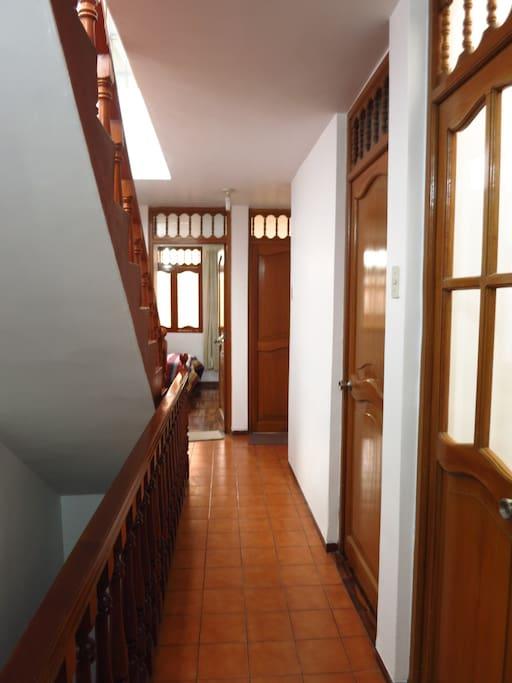 Segundo piso de la casa