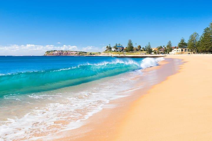 Beachfront Cozy Unit - Collaroy - อพาร์ทเมนท์
