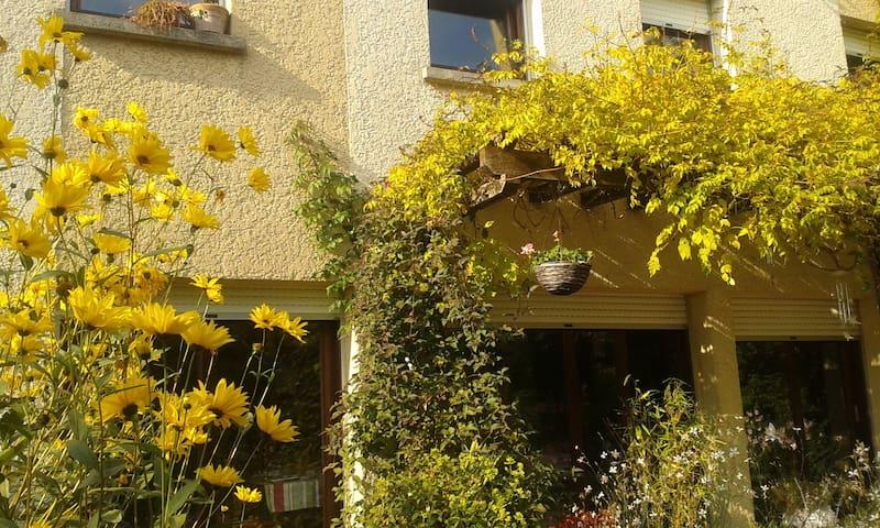 maison ensoleillée avec jardin - Crégy-lès-Meaux - บ้าน