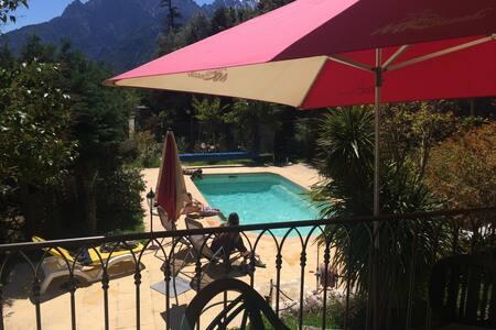 villa de village piscine   - Moltifao