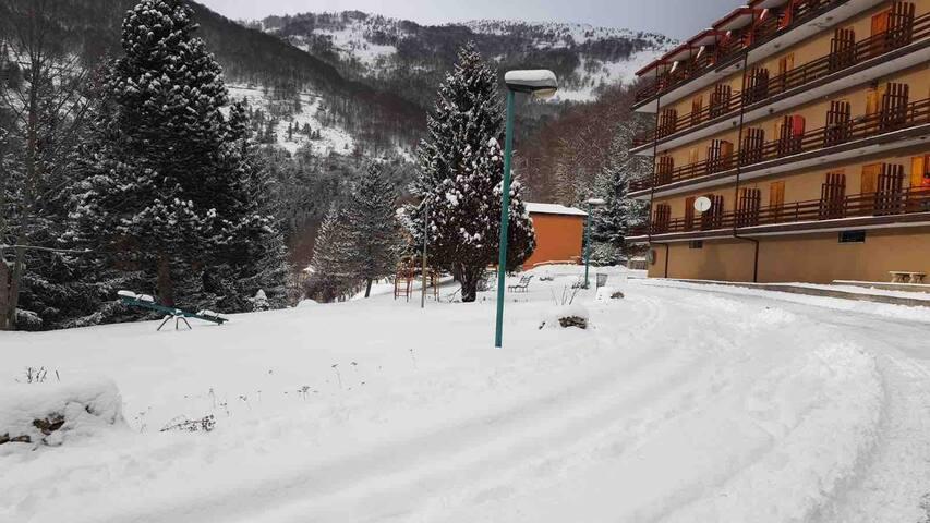Monolocale Residence Milena (valle granara)