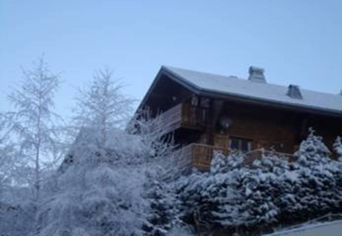Chalet Belle Vache in Chatel with Hot-tub
