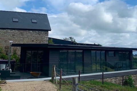 Twmbarlwm Luxury Retreat - Barnfields Cabin