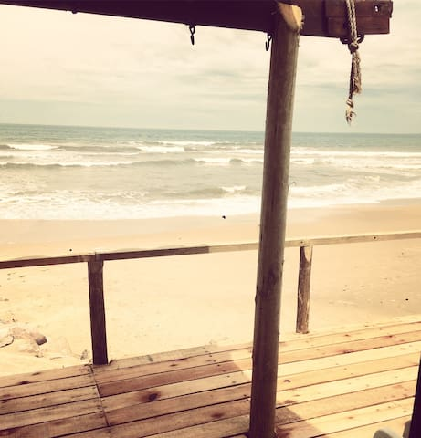 Casa en Aguas Dulces frente al mar. - Aguas Dulces - Rumah